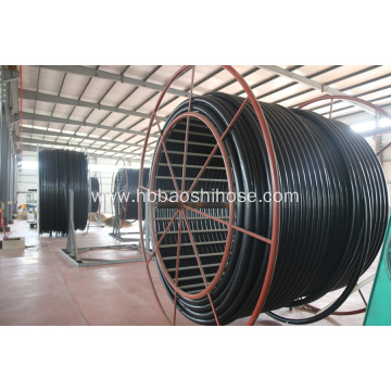 PE Steel Braided Composite Hose