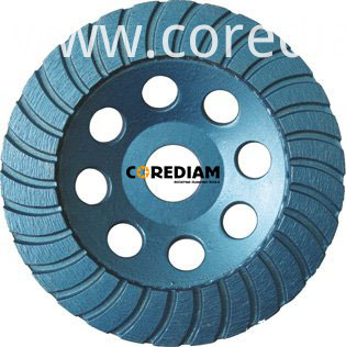 Turbo cup wheel 100mm