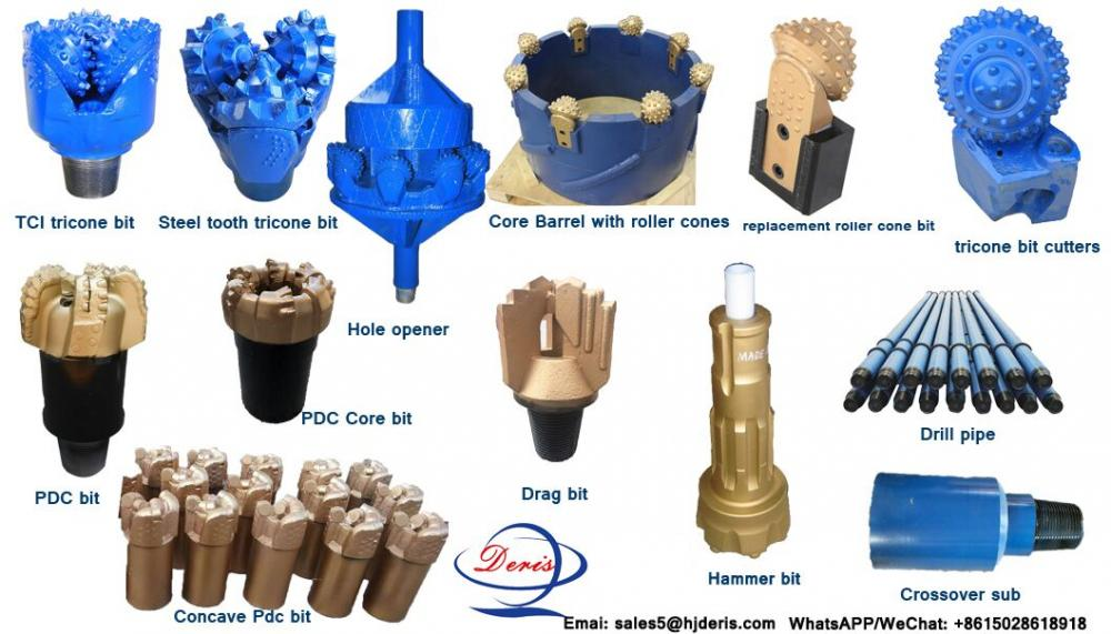 impregnated diamond core bit for geotechnical drilling