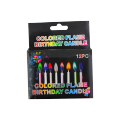 Color Flame Birthday Candle
