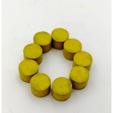 Yellow Solidified Energetic Tablet For Drive Pin