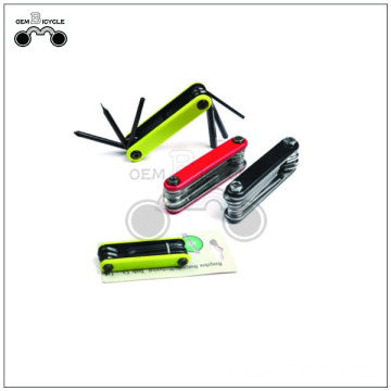 Custom colorful bike repair multi tool kit