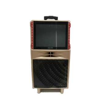 Portable Karaoke speaker with screen