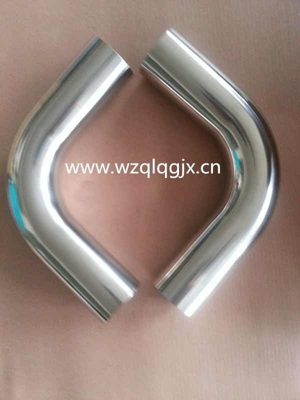 Sanitary Stainless Steel Special Welded Extension Elbow