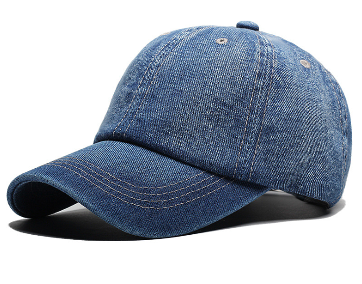 Denim Plain Cap