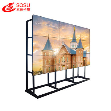 ultra narrow bezel system lcd video wall