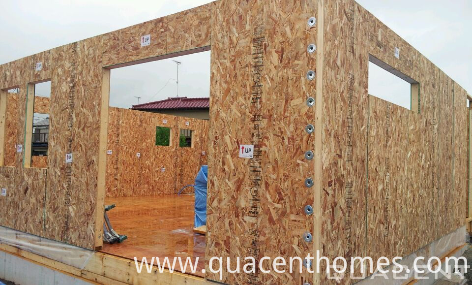 Modern Design Wooden Frame Prefab Homes