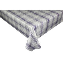 Plaid design multipurpose printed tablecloth