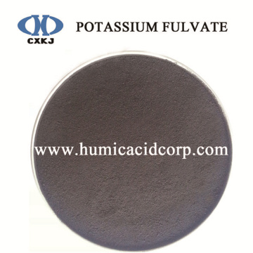 Cheap for Potassium Fulvate Powder CXKJ 100% Water Soluble Potassium Fulvate Fertilizer supply to United States Factory