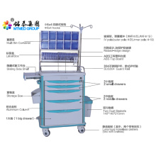 Hospital patient anesthetic vehicles cart