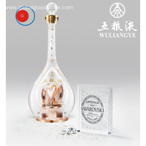 OEM Factory for Crystal Glass Bottle Swarovski Glass Bottle Exquisite Collection supply to Iceland Factory
