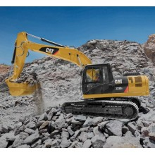 CAT 323 D3 Hydraulic excavator road construction
