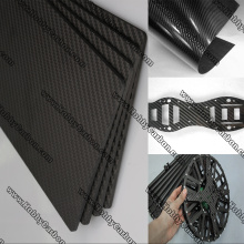 3K twill matte Carbon Fiber Sheet for Sale