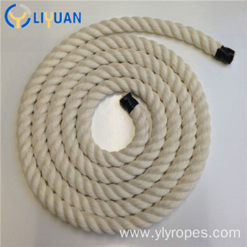 Twist braided 100% natural cotton rope