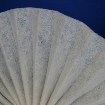 Medium-high efficiency nonwoven  filter felt