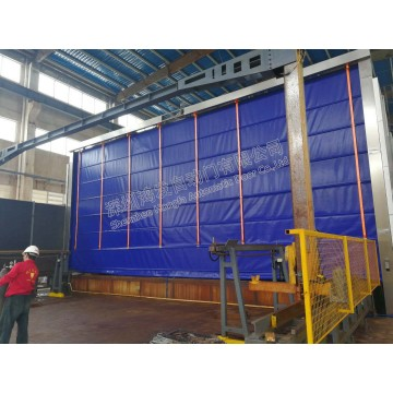 Large Size Folding Stacking Fast Door