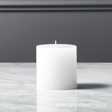 Religious Activities Church pillar white candle for memorial