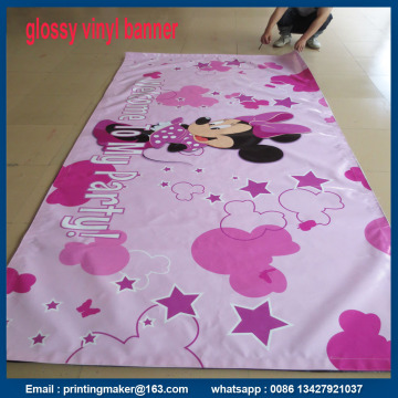 500gsm PVC Banner Trimmed with Velcro Edging