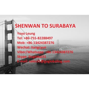 Zhongshan Shenwan Sea Freight to Indonesia Surabaya