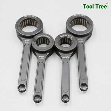 sk bearing wrench spanner with black dressing