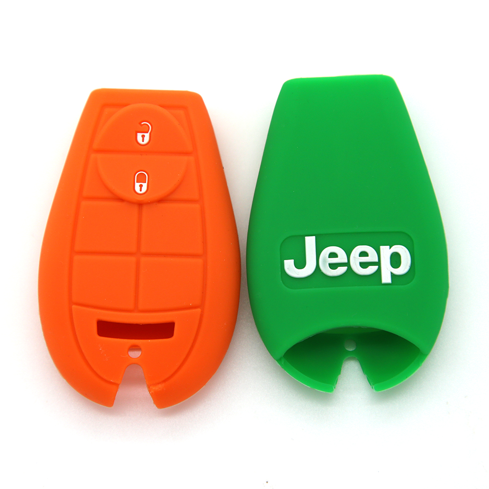 Silicone skin cover for car key