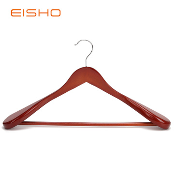 Luxury Wood Coat Hangers With Wide Shoulder EWH0092-93