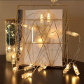 Battery Operated Led Photo Clips String Lights