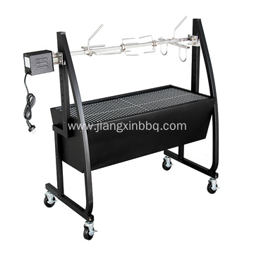 Deluxe BBQ Spit Roaster With Rotisserie Motor