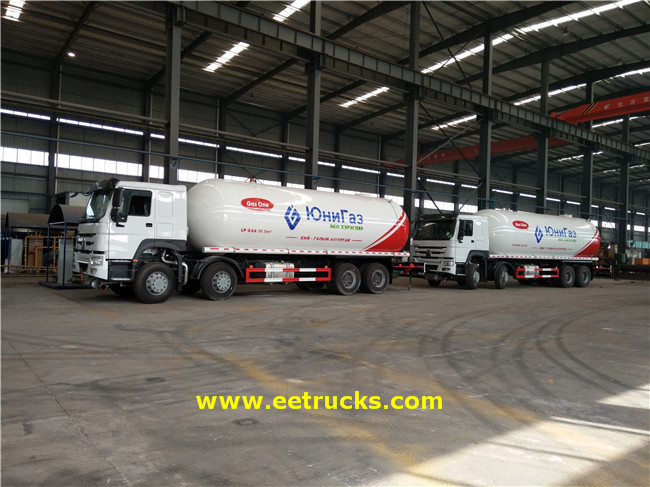 15T LPG Transport Trucks