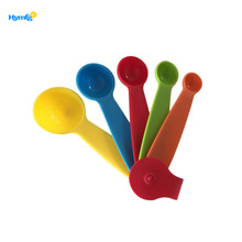 Food grade baking tool plastic measuring spoon set
