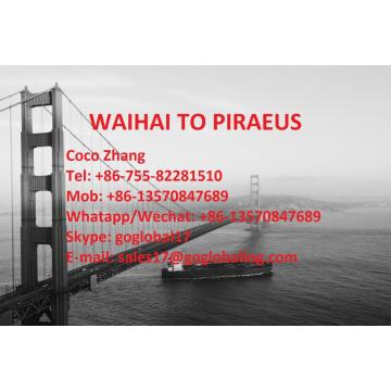 Jiangmen Waihai Sea Freight to Greece Piraeus