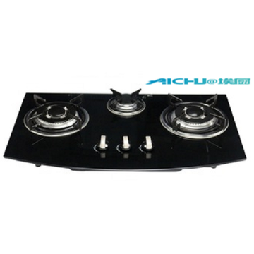3 Burners Kitchen Glass Kitchen Tempered Glass
