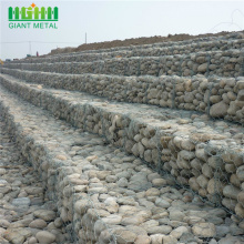 Flood control  twisted weave hexagonal gabion mesh