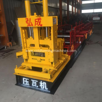 Automatic Hydraulic C Purlin Forming Machine