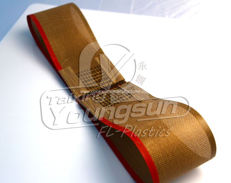High quality PTFE mesh conveyor belt for printing