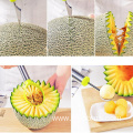 3PC Stainless Steel Melon Carving Tool Set
