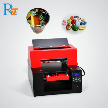 Refinecolor coffee shop with printer machine