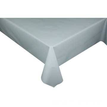 Solid Embossed Fabric Tablecloth Outdoor Table Covers