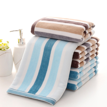 Cut Pile Yarn Dyed Stripe Towels