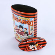 Good quality small candy tin can