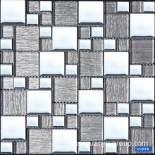 grey stainless steel style mosaic