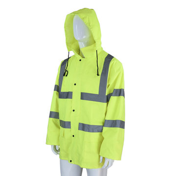 Oxford Rain Coat with PU coating
