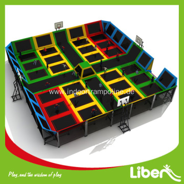 Biggest indoor trampoline park centers
