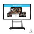 86 Inches UHD Touch Monitor with mobile stand