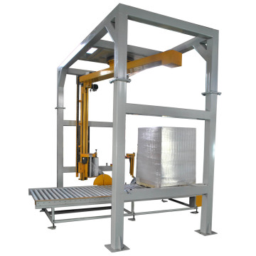 Arm type stretch wrapping machine