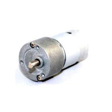 RS-395PH brushed dc gear motor/ permanent magnet gear motor with shielding cover     worm geared motor