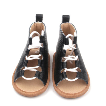 New Design Baby Shoelace Sandals