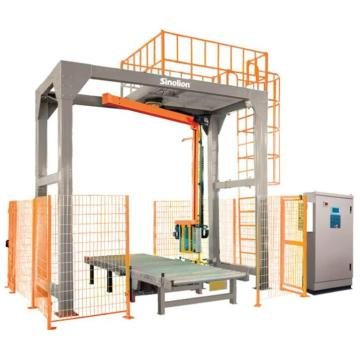 Full Automatic rotary arm pallet wrapping machine