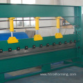 Factory price hydraulic adhesive coating folding and bending machine