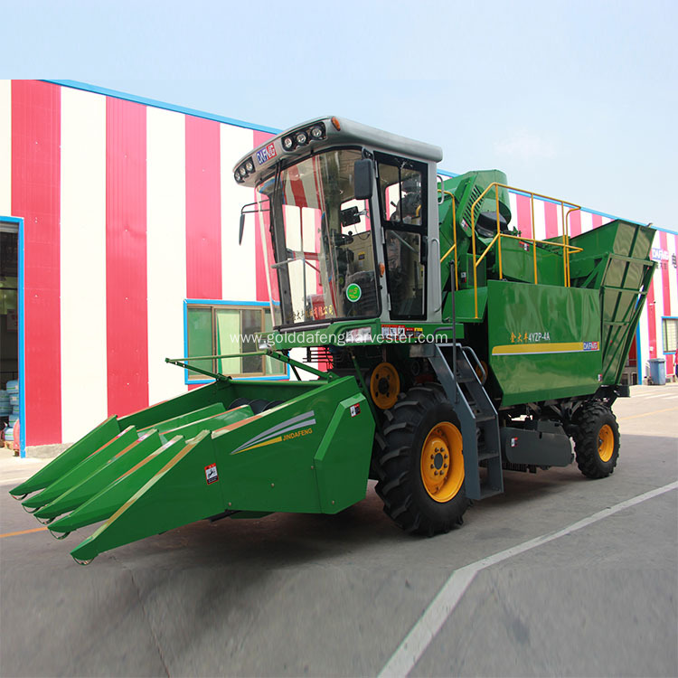 fresh corn maize cutter harvester price in india